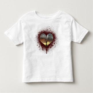 Safe the nature bleeding heart tree of life toddler t-shirt