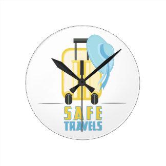 Safe Travels Clock