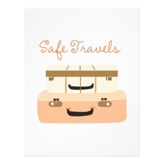 Safe Travels Customized Letterhead