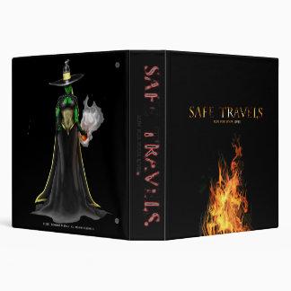 SAFE TRAVELS Witch VII & cover logo binder