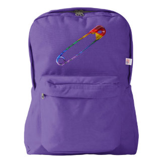 Safe-ty Pin Backpack