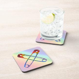 Safe-ty Pin Coaster