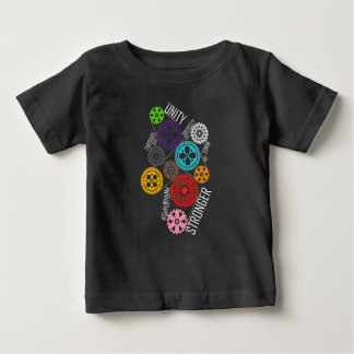 Safe With Me Cogs Baby Dark Jersey T-Shirt