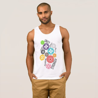 Safe With Me Cogs Men's Basic Tank Top