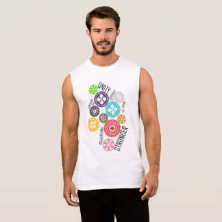 Safe With Me Cogs Men's Muscle Tank
