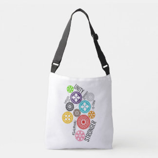 Safe With Me Cogs Sling Bag