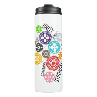 Safe With Me Cogs Thermal Tumbler