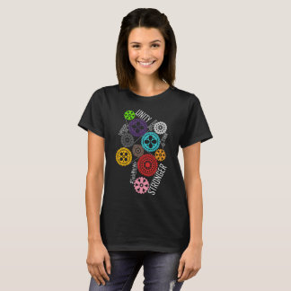 Safe With Me Cogs Women's Basic Dark T-Shirt