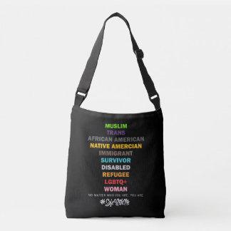 Safe With Me Cross Dark Sling Bag