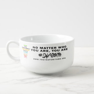 Safe With Me Cross Soup Mug