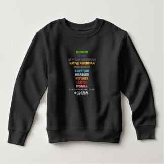 Safe With Me Cross Toddler Dark Sweatshirt
