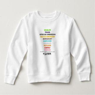 Safe With Me Cross Toddler Sweatshirt