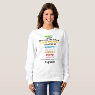 Safe With Me Cross Women's Basic Sweatshirt