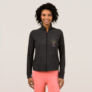 Safe With Me Cross Women's Practice Jacket