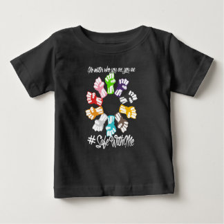 Safe With Me Fists Baby Dark Jersey T-Shirt