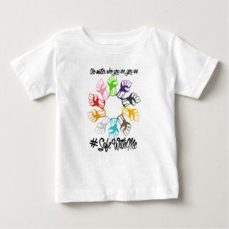 Safe With Me Fists Baby Jersey T-Shirt