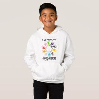 Safe With Me Fists Boy's Hoodie
