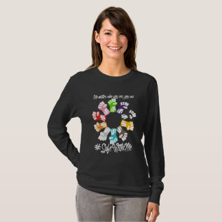 Safe With Me Fists Dark Women's Long Sleeve Tee