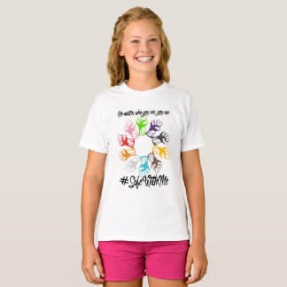 Safe With Me Fists Girl's T-Shirt