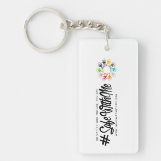 Safe With Me Fists Key Chain