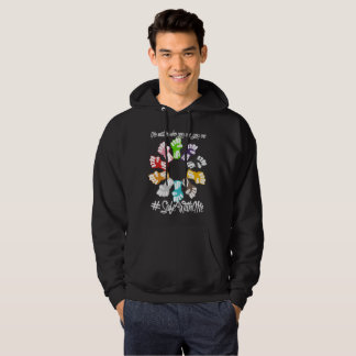 Safe With Me Fists Men's Basic Dark Hoodie