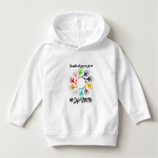Safe With Me Fists Toddler Hoodie