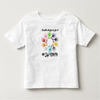 Safe With Me Fists Toddler Jersey T-Shirt