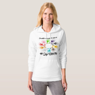 Safe With Me Fists Women's Fleece Pullover Hoodie