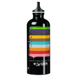 Safe With Me Flag Dark Sigg Water Bottle