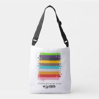 Safe With Me Flag Sling Bag