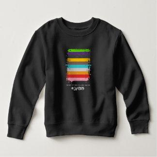 Safe With Me Flag Toddler Dark Sweatshirt
