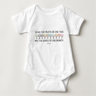 Safe With Me Tree Baby Bodysuit