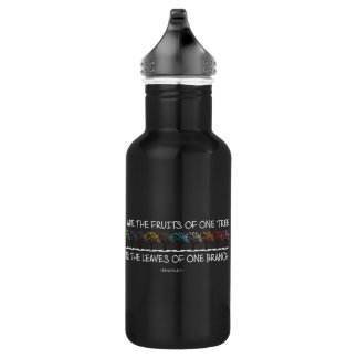 Safe With Me Tree Dark Water Bottle