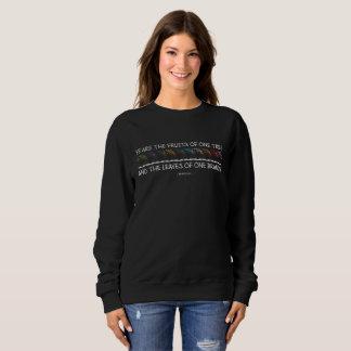 Safe With Me Tree Dark Women's Basic Sweatshirt