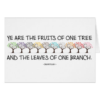 Safe With Me Tree Greeting Card