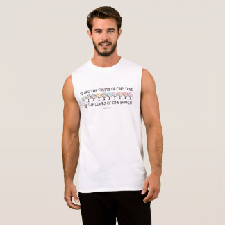 Safe With Me Tree Men's Muscle Tank