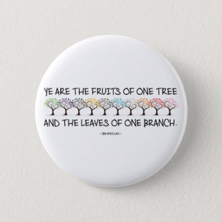 Safe With Me Tree Round Button