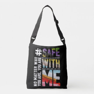 Safe With Me Watercolor Dark Sling Bag