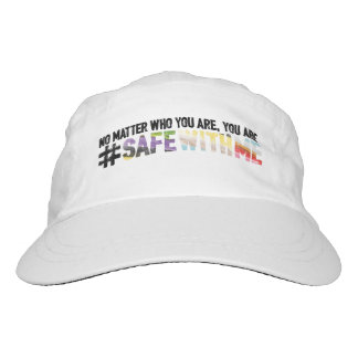 Safe With Me Watercolor Performance Hat