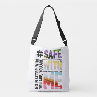 Safe With Me Watercolor Sling Bag