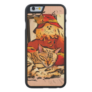 SAFELY GUARDED CARVED MAPLE iPhone 6 CASE