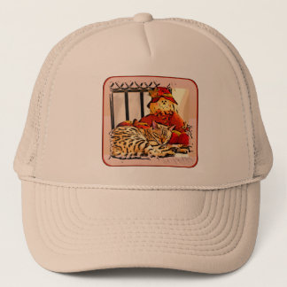 SAFELY GUARDED TRUCKER HAT