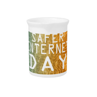 Safer Internet Day - Appreciation Day Pitcher