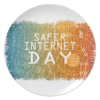 Safer Internet Day - Appreciation Day Plate