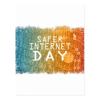 Safer Internet Day - Appreciation Day Postcard