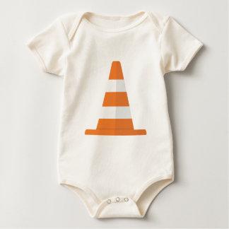 Safety Cone Baby Bodysuit