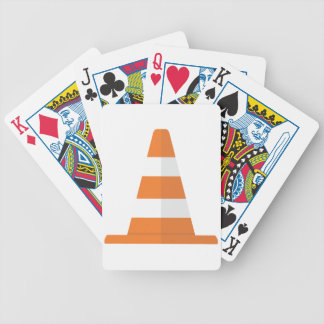 Safety Cone Bicycle Playing Cards