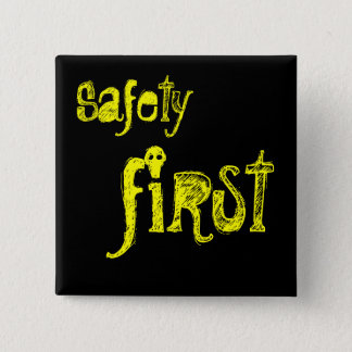 Safety First 2 Inch Square Button