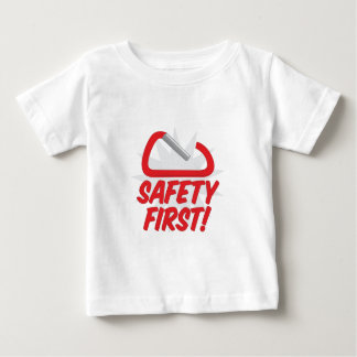 Safety First Baby T-Shirt