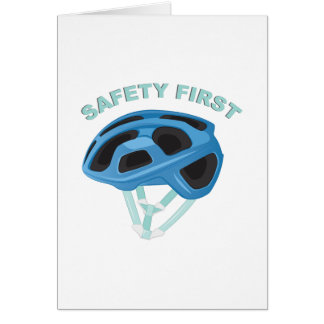 Safety First Card